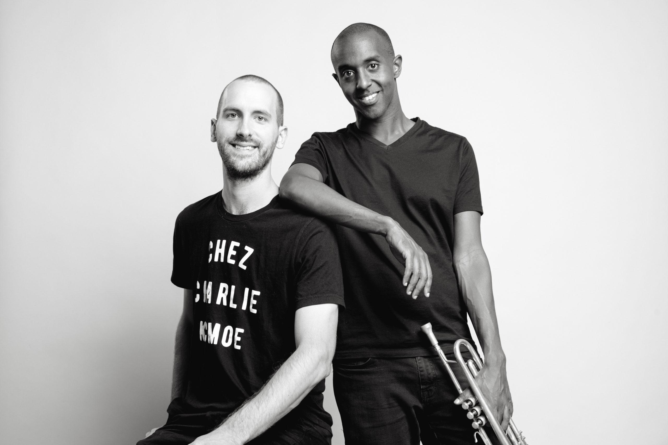 Hermon Mehari et Peter Schlamb